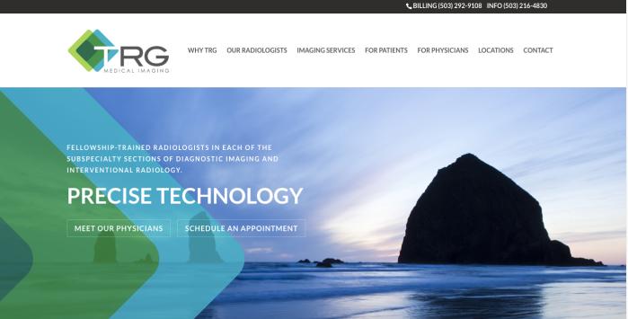 TRG homepage