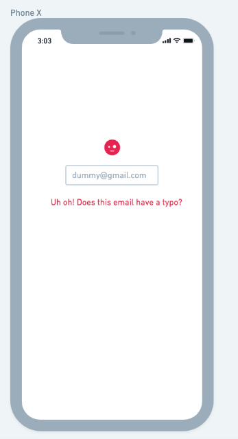 UX email example
