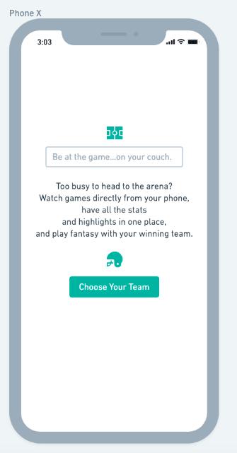 UX app example